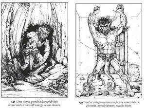 o-feiticeiro-da-montanha-de-fogo-jambo-editora-cojagamer-minotauro-e-monstro